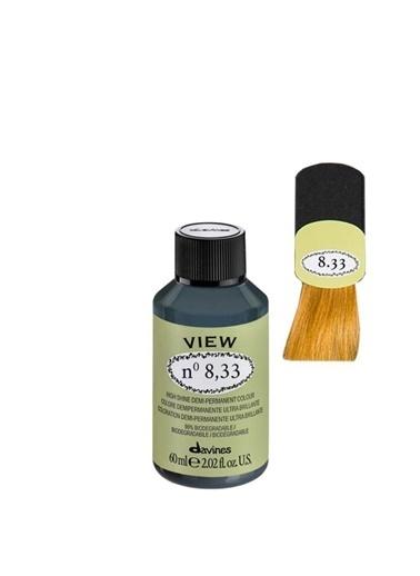 Davines Davines View Yarı Kalıcı Saç Boyası 8,33 Açık Kumral Yogun Dore 60 Ml Renksiz
